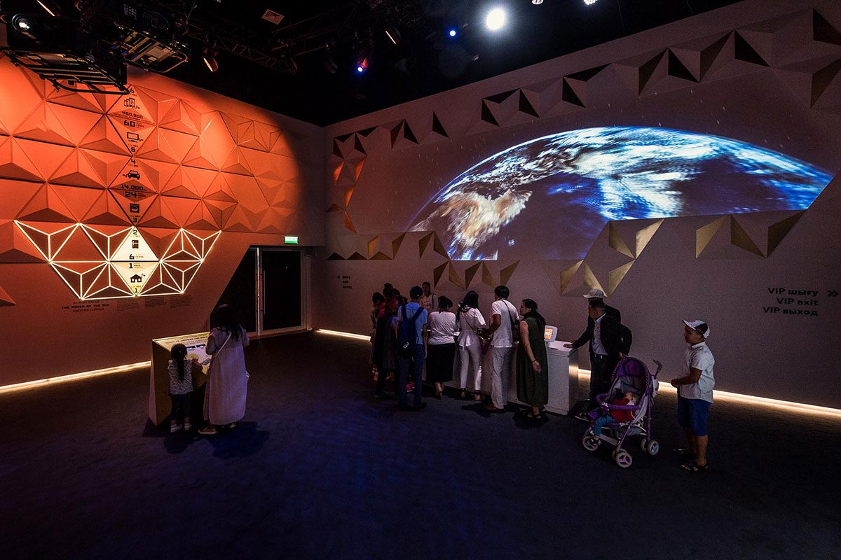 UNITED ARAB EMIRATES PAVILION, EXPO ASTANA 2017