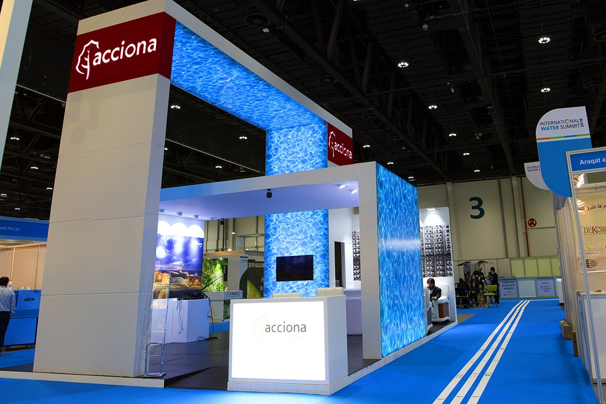 ACCIONA STAND – INTERNATIONAL WATER SUMMIT